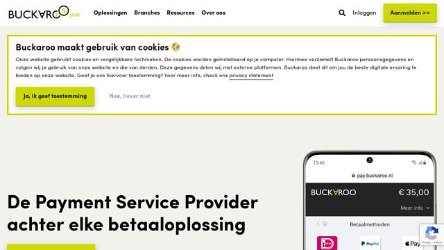 Buckaroo API koppeling