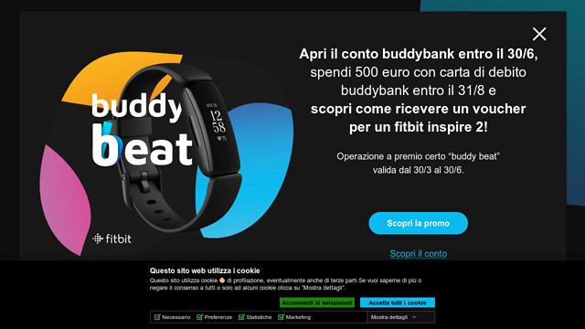 buddybank API koppeling