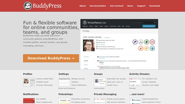 BuddyPress API koppeling