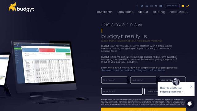 Budgyt API koppeling