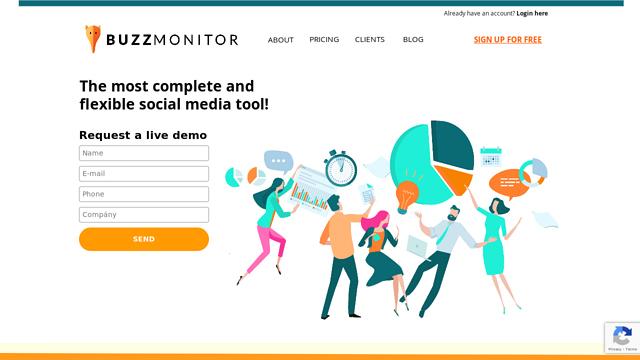 Buzzmonitor API koppeling