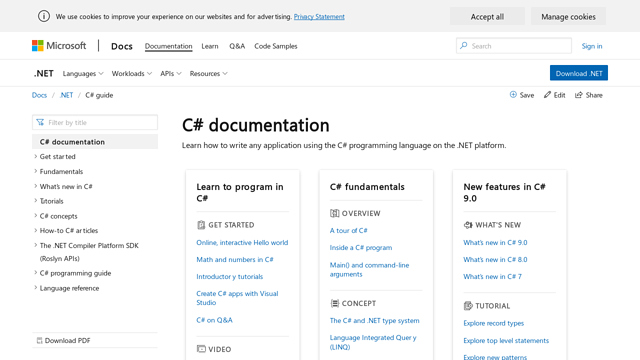 C# API koppeling