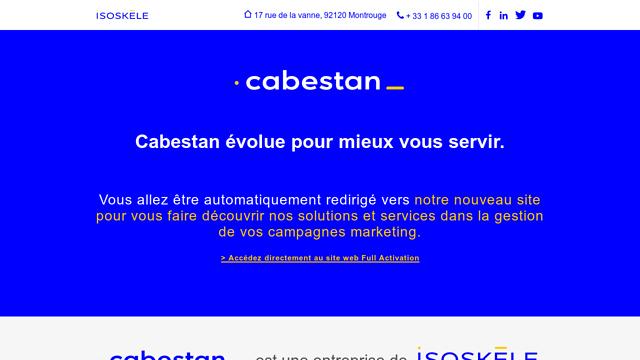 Cabestan API koppeling