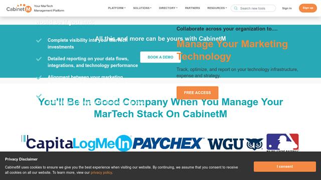 CabinetM API koppeling