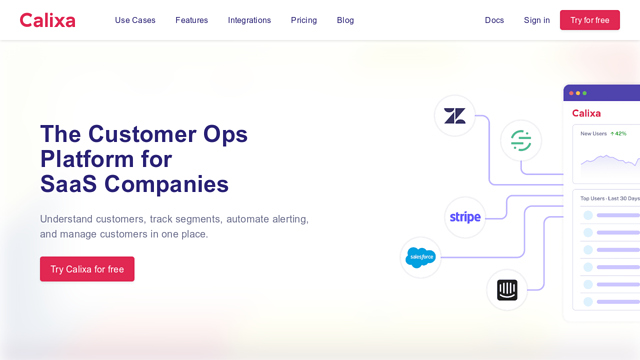 Calixa API koppeling