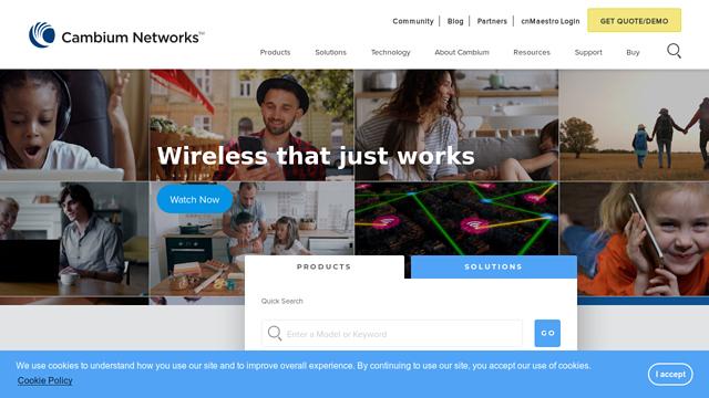 Cambium-Networks API koppeling
