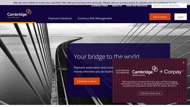Cambridge API koppeling