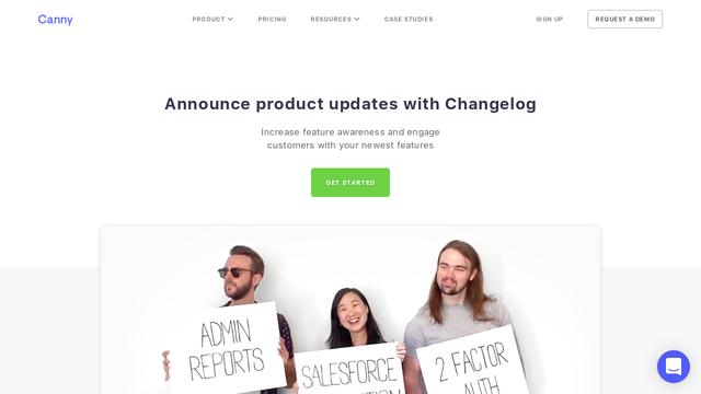 Canny-Changelog API koppeling
