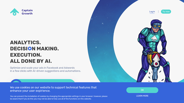 Captain-Growth API koppeling