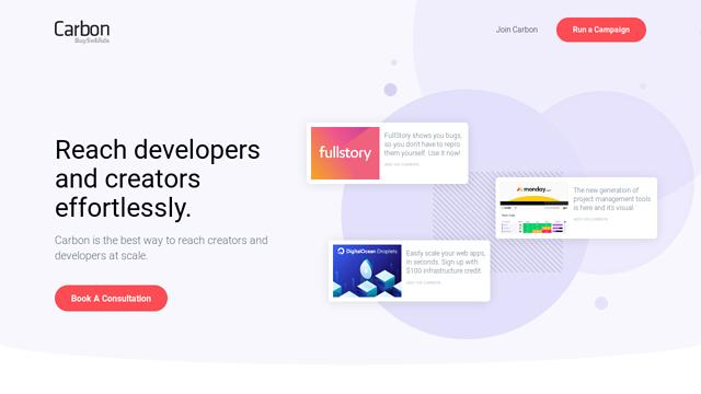 Carbon-Ads API koppeling