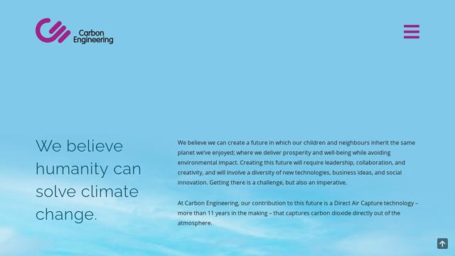 Carbon-Engineering API koppeling