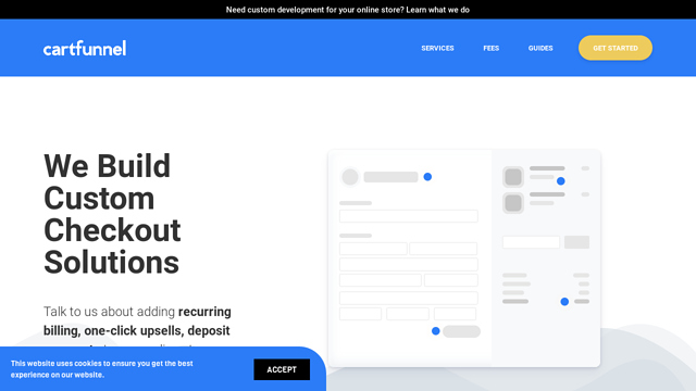 Cartfunnel API koppeling