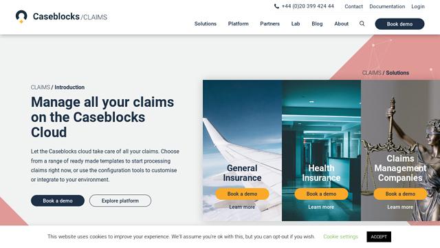 Caseblocks API koppeling
