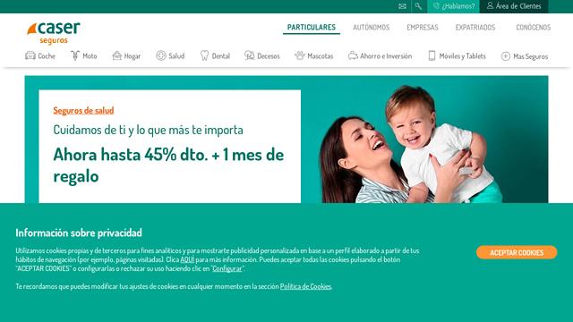 Caser-Seguros API koppeling