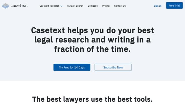 Casetext API koppeling