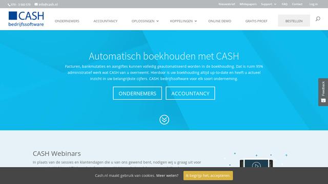 CASH API koppeling