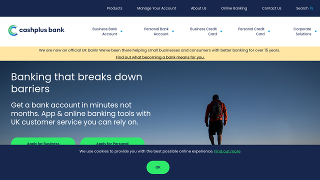 Cashplus API koppeling