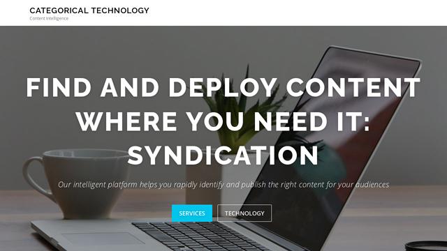 Categorical-Technology API koppeling