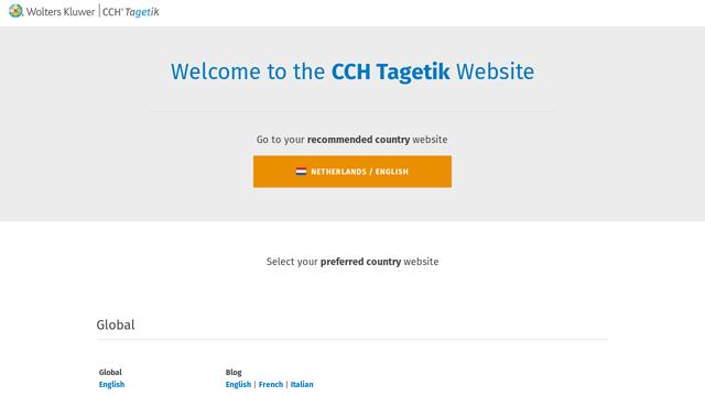 CCH-Tagetik API koppeling
