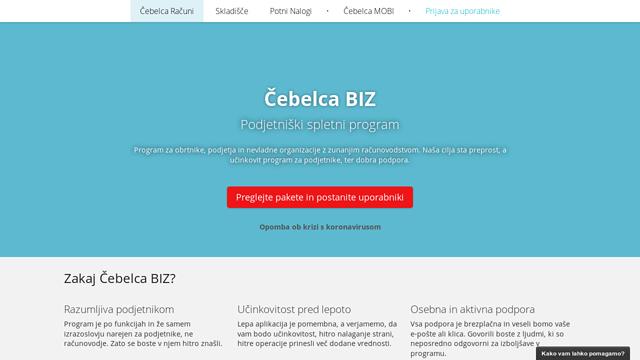 Čebelca.biz API koppeling