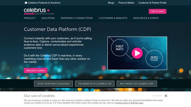 Celebrus API koppeling