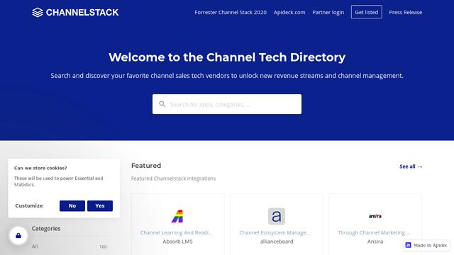 Channel-Stack API koppeling