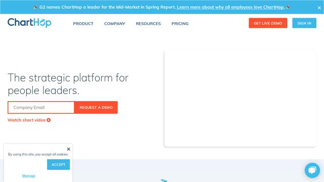 ChartHop API koppeling