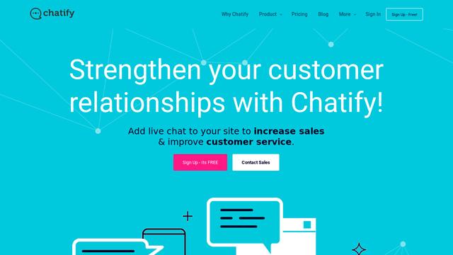 ChatifyHQ API koppeling