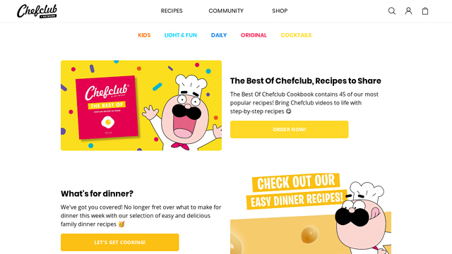 Chefclub API koppeling