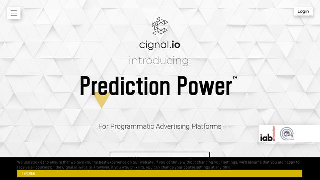 cignal.io API koppeling