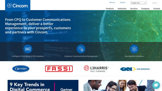 Cincom-Systems API koppeling