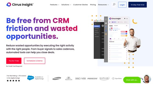 Cirrus-Insight API koppeling