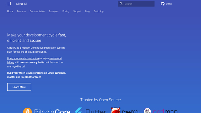 Cirrus-Labs API koppeling