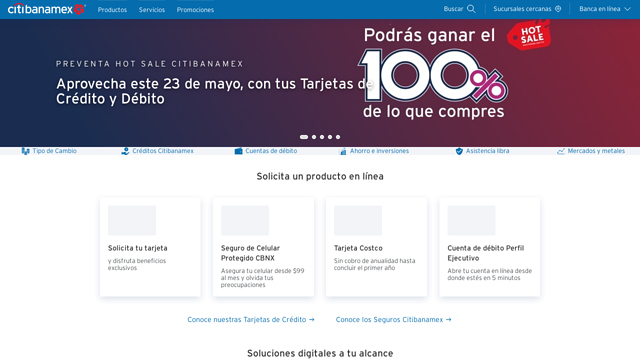 Citibanamex API koppeling