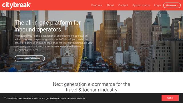 Citybreak-Enterprise API koppeling