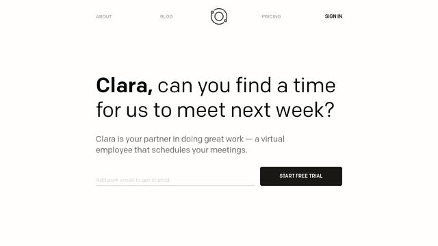 Clara-Labs API koppeling