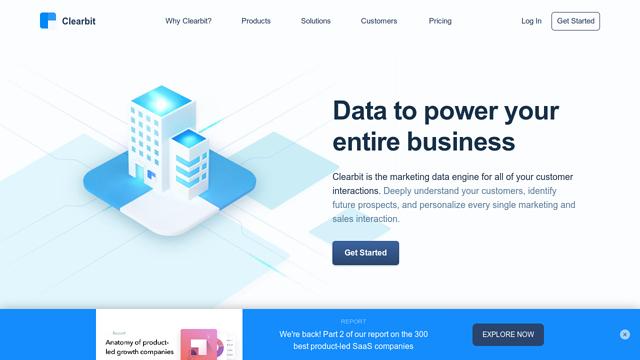 Clearbit API koppeling
