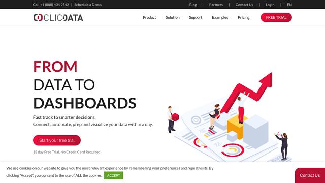 ClicData API koppeling