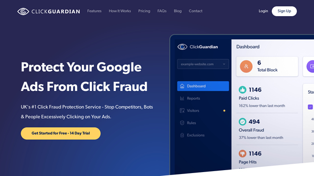 Click-Guardian API koppeling