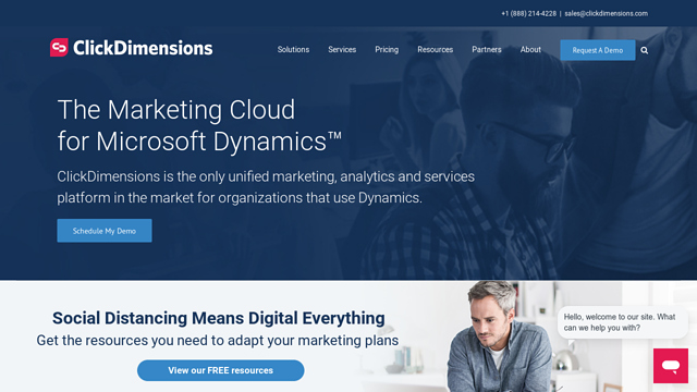 ClickDimensions API koppeling