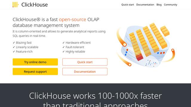 ClickHouse API koppeling