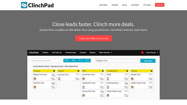ClinchPad API koppeling