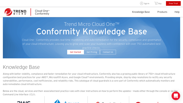 Cloud-Conformity API koppeling