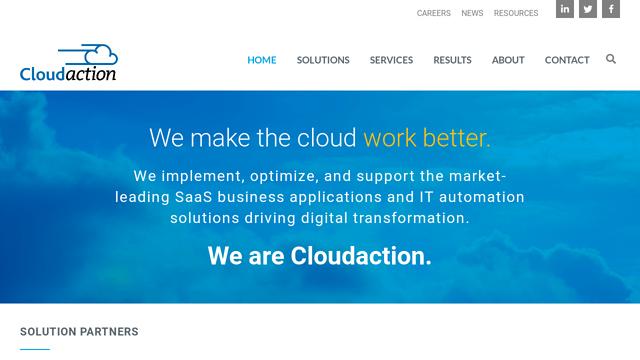 Cloudaction API koppeling