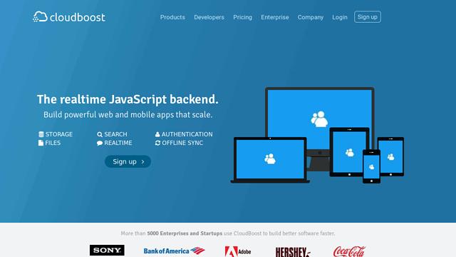 CloudBoost.io API koppeling