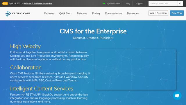 CloudCMS API koppeling