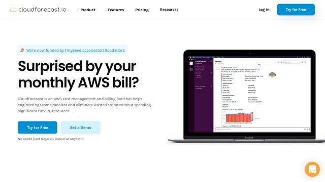 CloudForecast API koppeling
