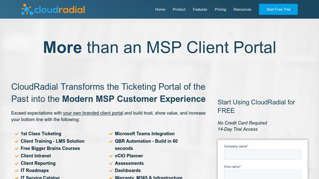 CloudRadial API koppeling