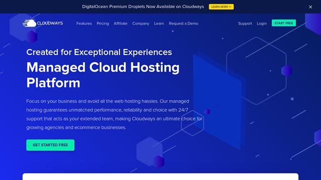 Cloudways API koppeling
