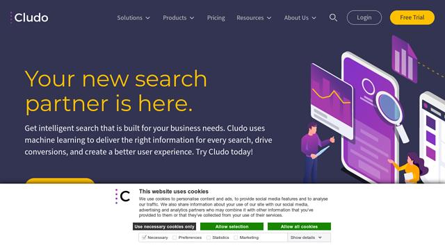 Cludo API koppeling